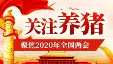 聚焦养猪!直击2020年全国两会
